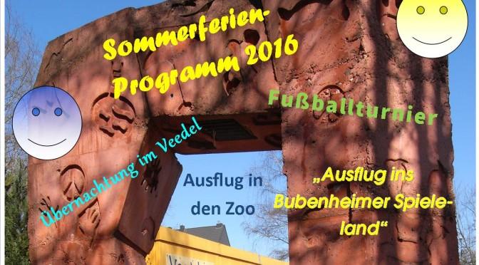 OT am Wunschtor – Sommerferienspielprogramm